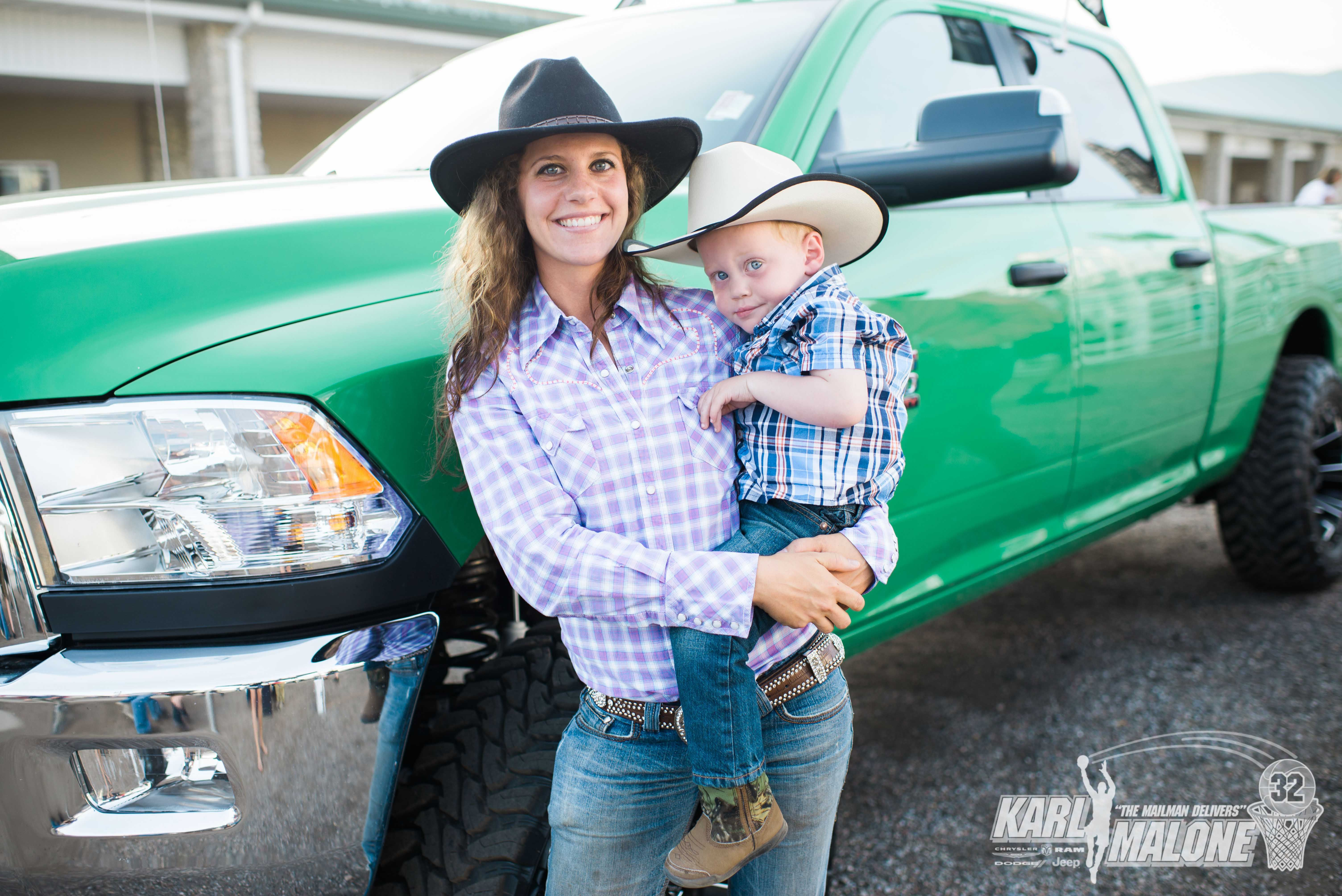 Oakley Rodeo Mama Cowgirl And Her Little Cowboy Ramtrucks