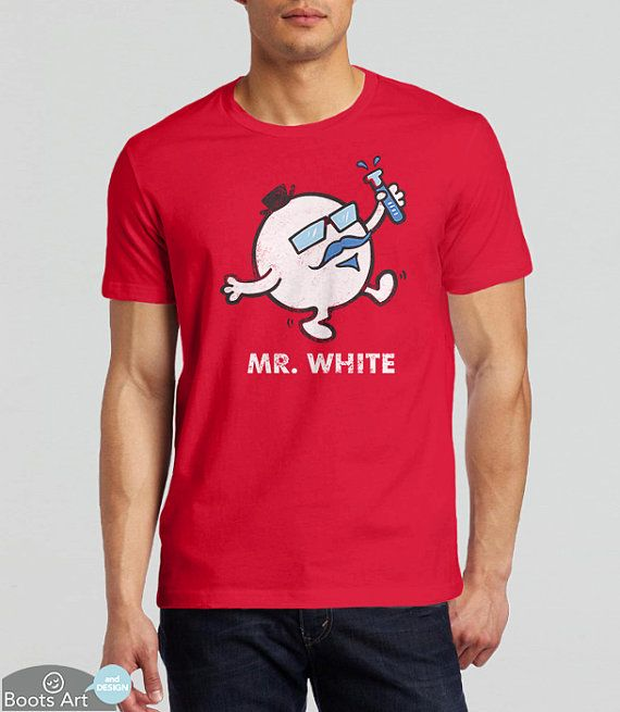 Pop Culture TV chemise | Nostalgie des années 80 T-Shirt | M. White | Chemise de chimie | T-Shirt Geek mignon | Tshirt de l