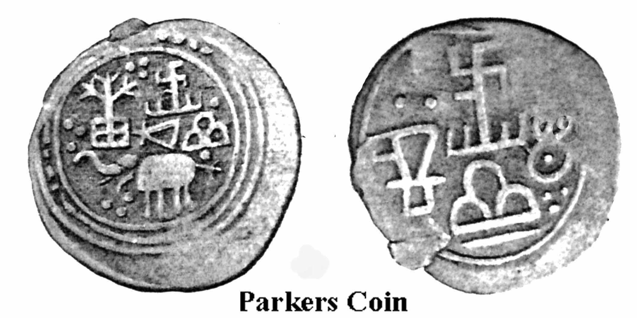 Ancient Sri Lankan Coins With Swastikas Symbols Pinterest