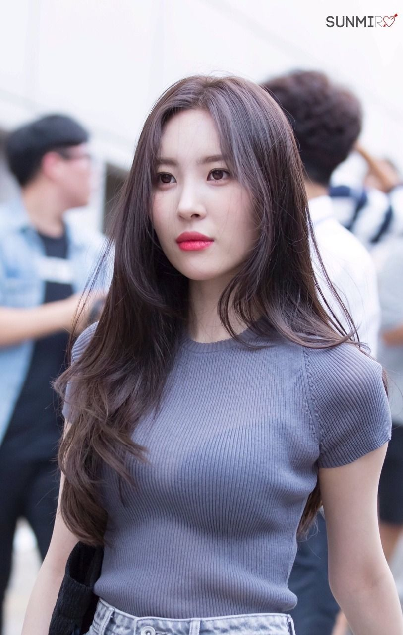 170811 sunmi on her way to happy together recording *:・゚
