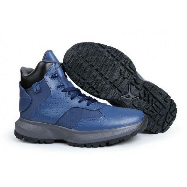 Mens Nike Jordan 23 Degrees F Blue Black