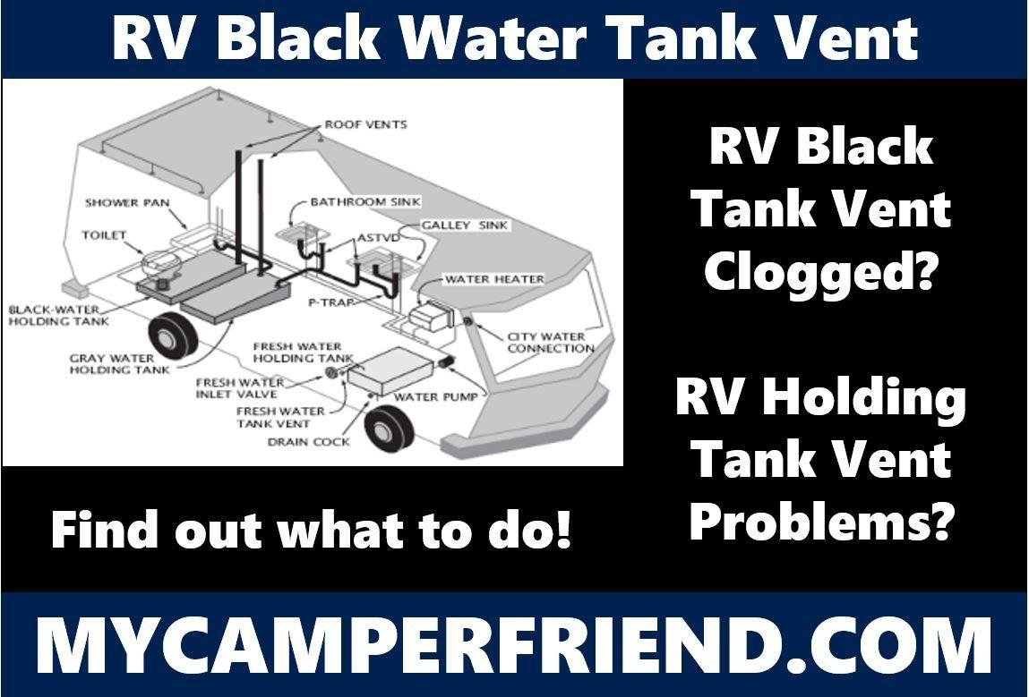 Rv Black Water Tank Vent Black Water Water Tank Rv Water Tank