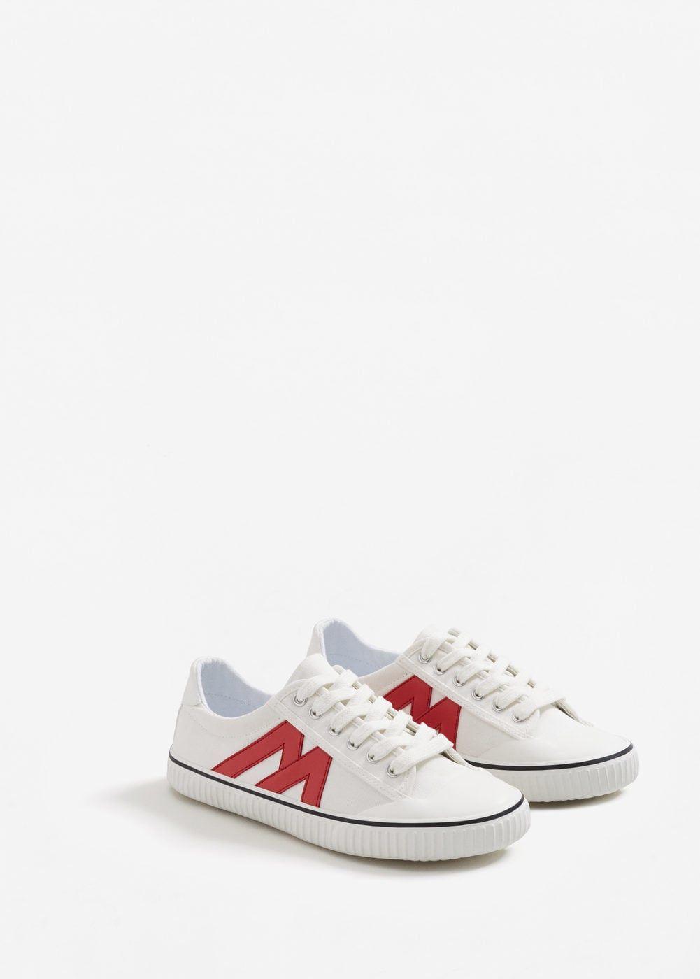 Contrast appliqué sneakers - Women  a485d5d1e