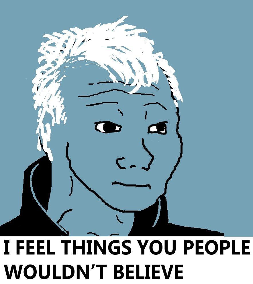 Wojak Feels Guy Blade Runner Memes Funny Internet