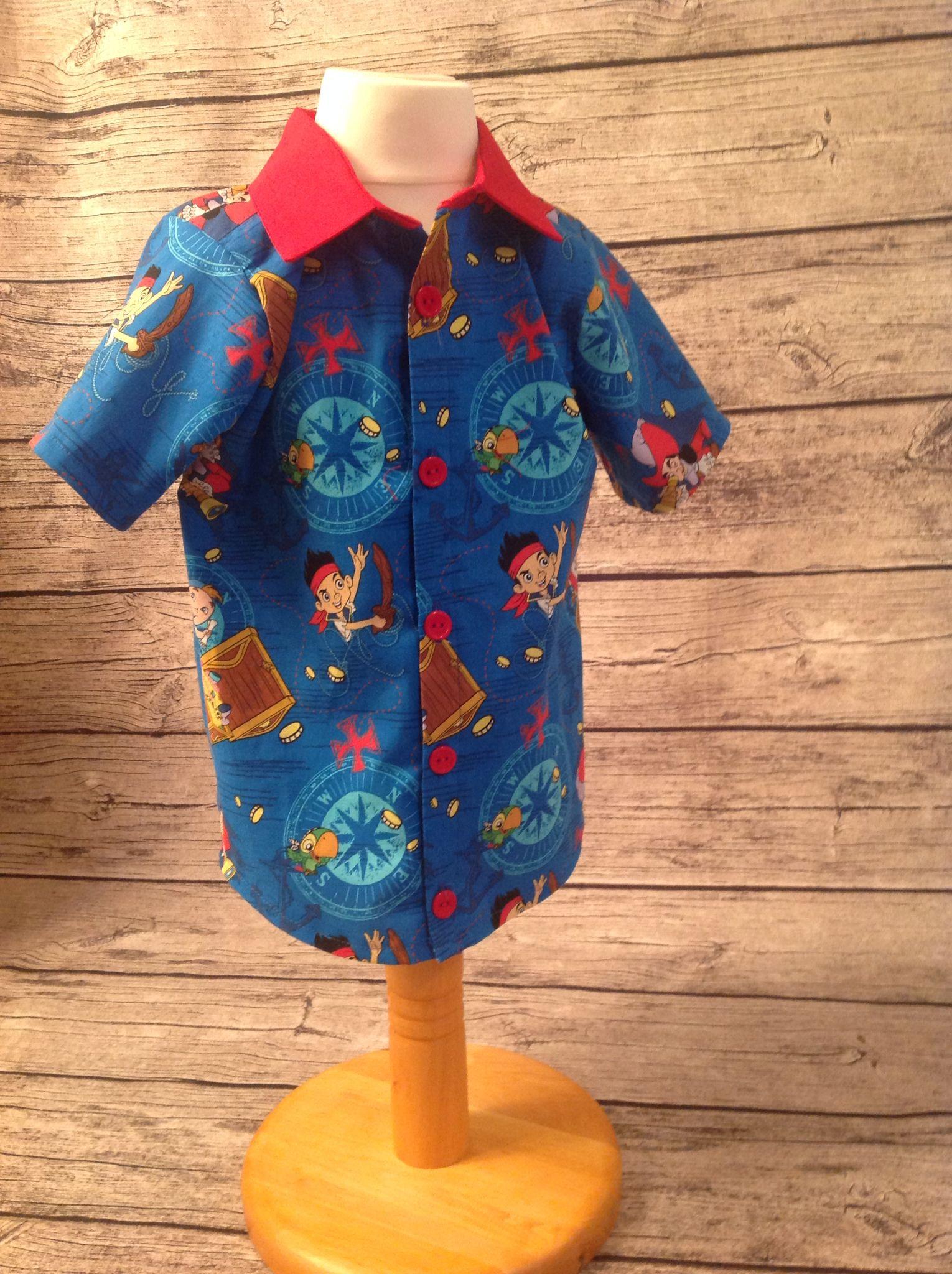 Jake shirt. Made from the Oxford shirt pattern from peekaboo pattern shop.