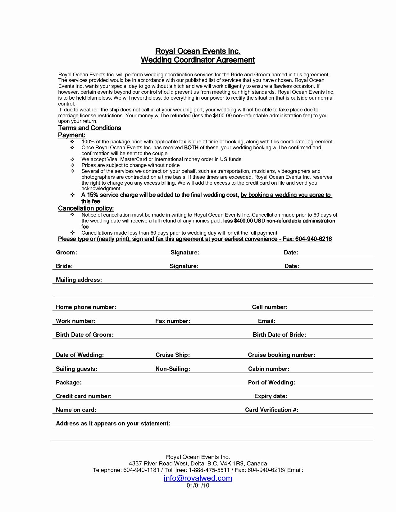 Party Rental Contract Template Awesome Wedding Planner Contract Sample Templates Event Planning Contract Event Planning Quotes Event Planning Business Cards Wedding planner contract template free