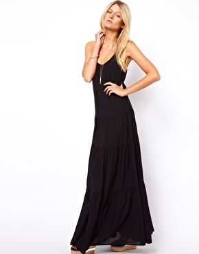 Enlarge ASOS Maxi Dress With Tiers   Clothes I like   Pinterest ... 780a5e705d18
