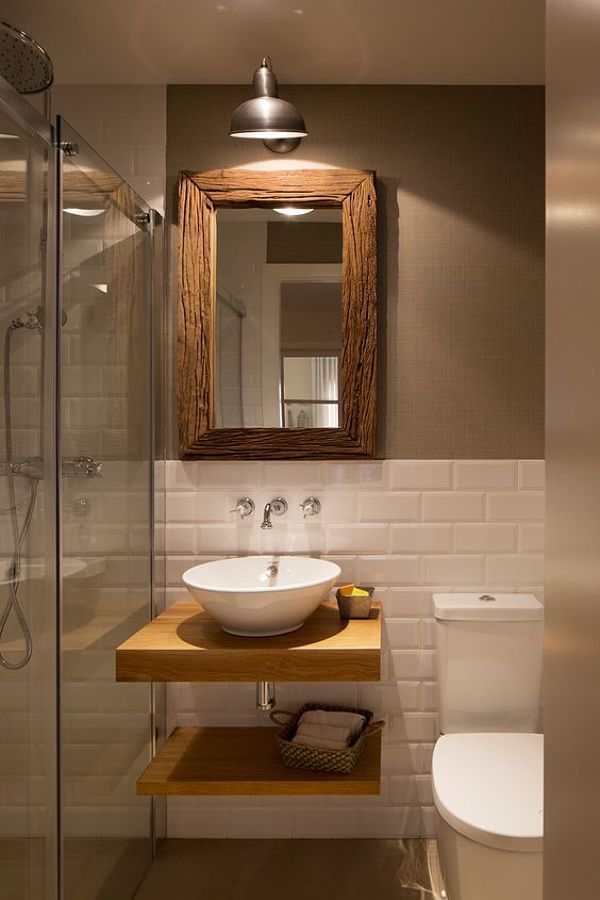 Inspiración para baños pequeños Ideas para cuartos de baño