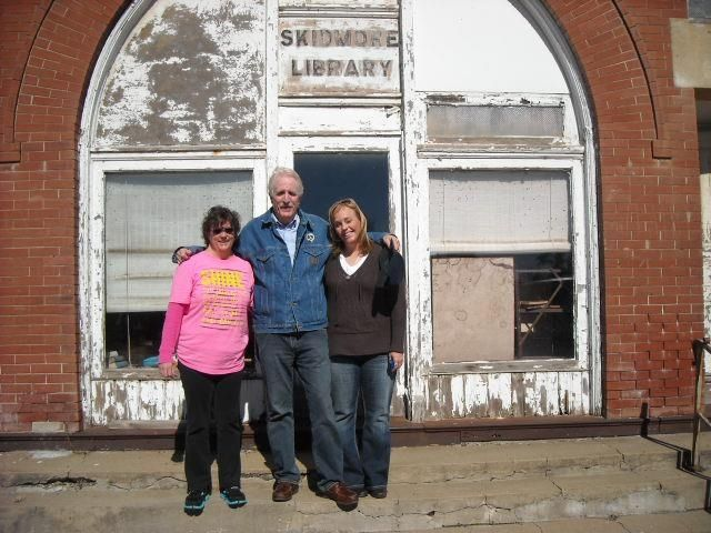 """Grace, the author of """"In Broad Daylight"""" Harry Maclean & me.   Oct/2012"""