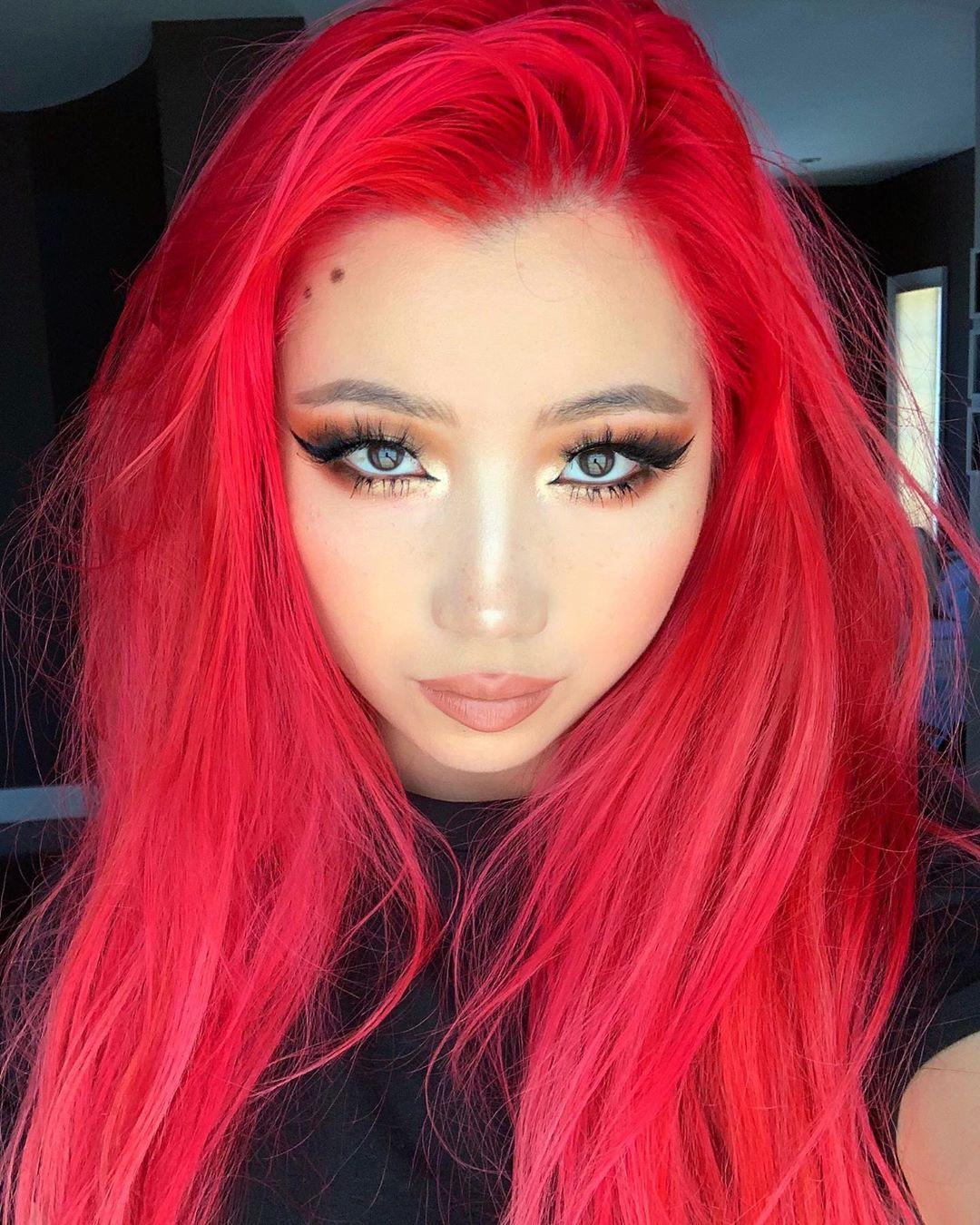 Arctic Fox Hair Color Katanvka Refreshed And Ready To Take On My Next Adventure Thanks For Amazing Hair Work As Alway Cool Hair Color Hair Color Fox Hair Dye