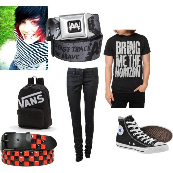 Emo Polyvore Outfits Emo Outfit For Boys 3 My Type