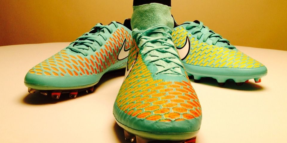 Now the difference between this #Nike #Magista !