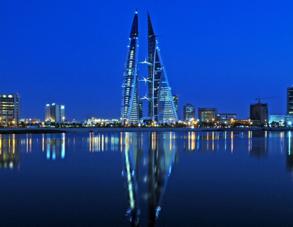 Scott Amyx Traveling to Qatar. Bahrain Doha Building