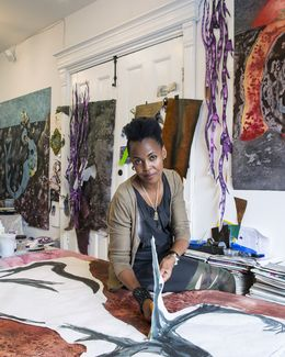 Wangechi Mutu, 'Studio Visit,' , ICI Annual Benefit & Auction 2014