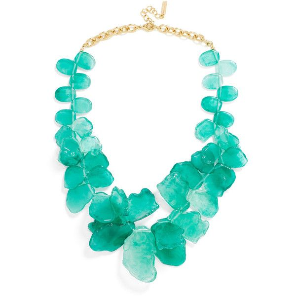 BaubleBar Seaglass Bib ($48) ❤ liked on Polyvore featuring jewelry, necklaces, pink necklace, bib jewelry, pink bib necklace, bib necklace and pink jewelry