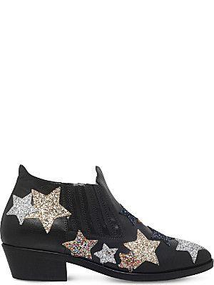 CHIARA FERRAGNI Camperos leather boots