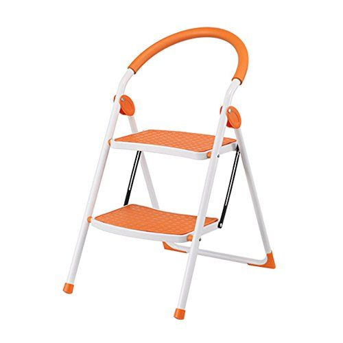 Best Lxla Household Folding Ladder Stool With Handrail Thicken 400 x 300