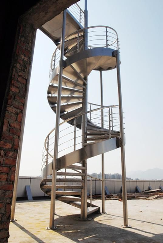 Spiral Staircase To Basement