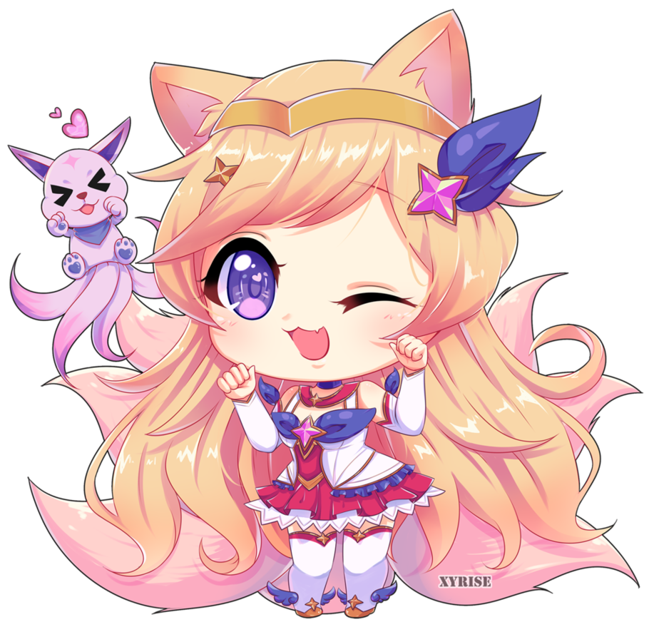Star Guardian Ahri By Xyrise Deviantart Com On Deviantart League Of Legends Ahri Lol Lol League Of Legends
