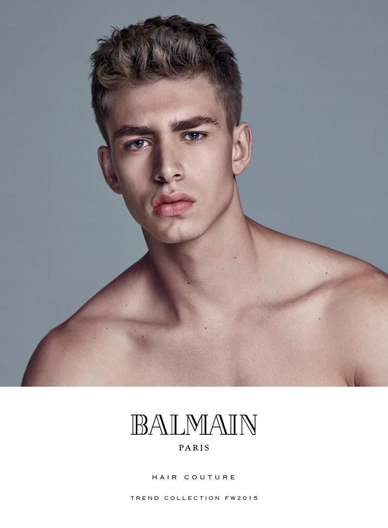 2015 men's hairstyle trends from balmain | modern hairstyles, hair