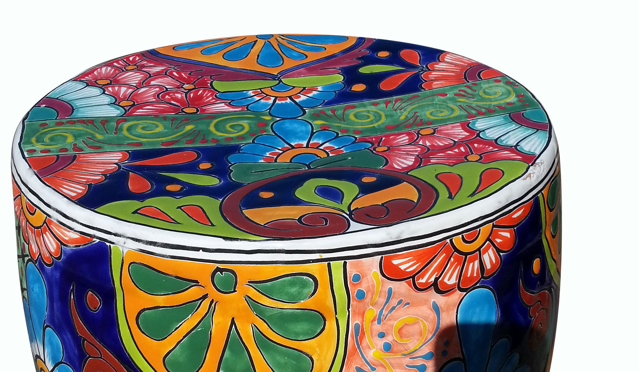 Magnificent Talavera Garden Bench Traditional In 2019 Arizonapottery Machost Co Dining Chair Design Ideas Machostcouk
