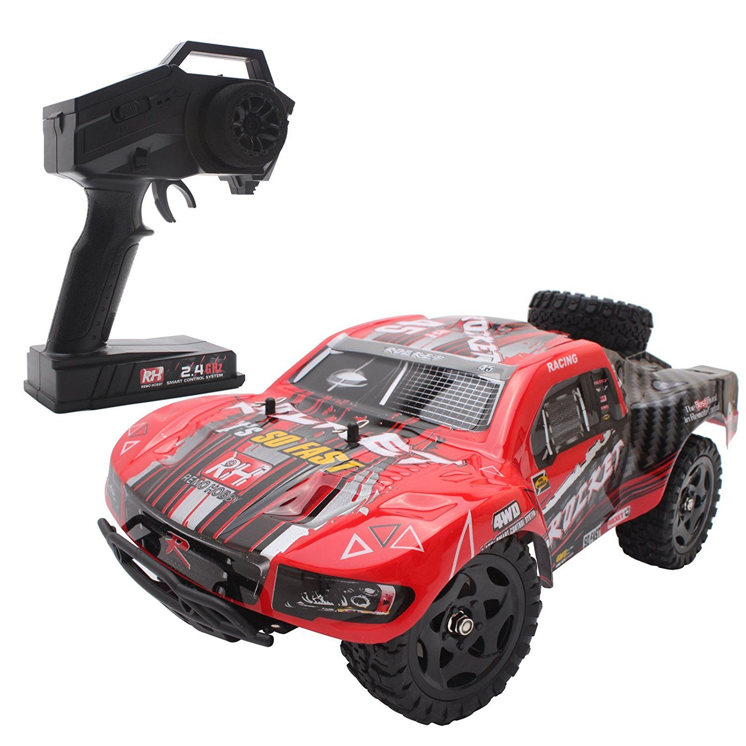 Cheerwing 1 16 2 4Ghz 4WD RC Truck High Speed f road Remote Control