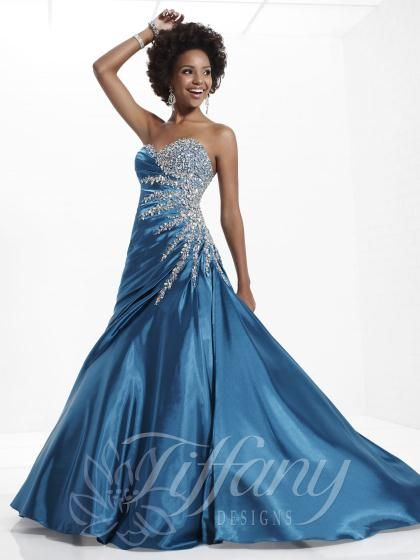 Tiffany Dresses at Prom Dress Shop. | Tiffany dresses, Tiffany and Prom
