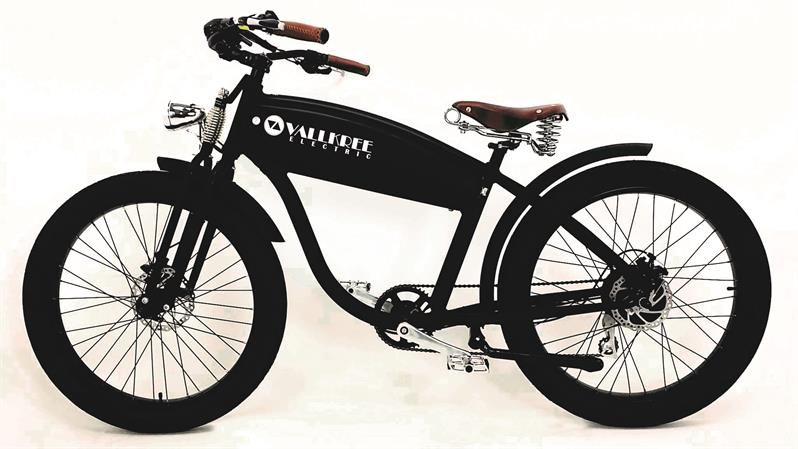 The Scrambler 250 Is Vallkree Cycle S Flagship Electric Bike This Electric Bicycle Has A Vintage Inspired Look Made With Quality Bi Bicycle Electric Bike Bike