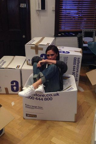 David and Victoria Beckham's closet clean-out for charity