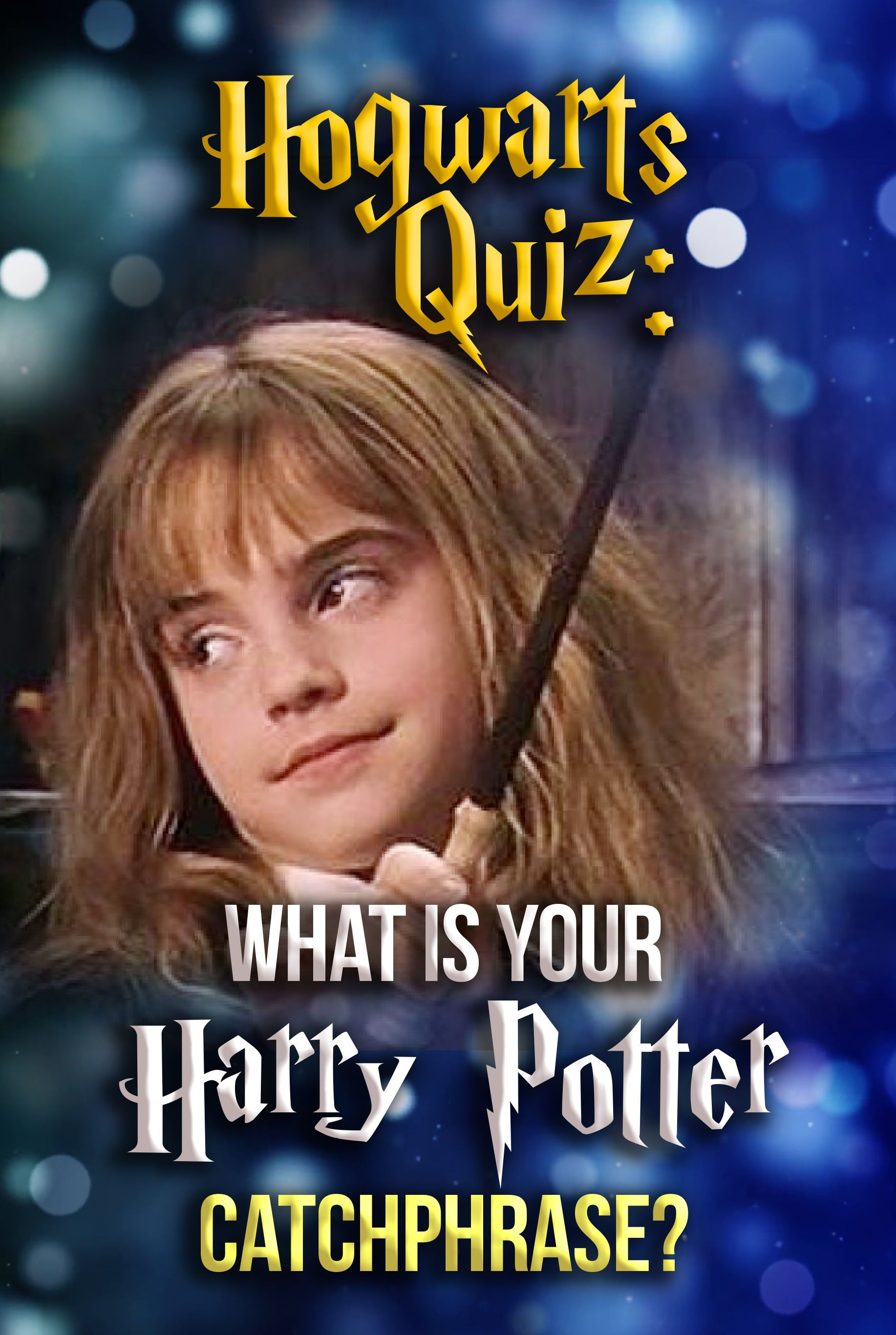 Hogwarts Quiz: What Is Your Harry Potter Catchphrase