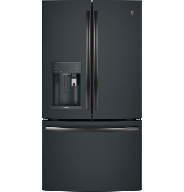 Ge Pye22p French Door Refrigerator French Doors Energy Star