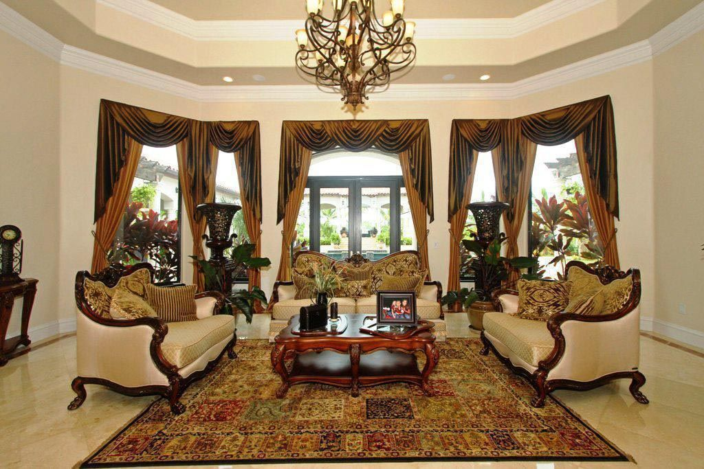 living room window valance ideas%0A Explore Swag Curtains  Living Room Curtains  and more