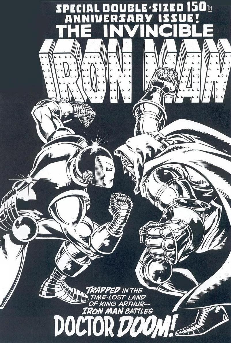 John Romita Jr And Bob Layton Iron Man Comic Books Art Original Art