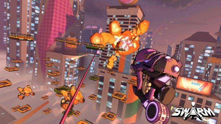 Swarm puts SpiderManstyle swinging into a VR arcade
