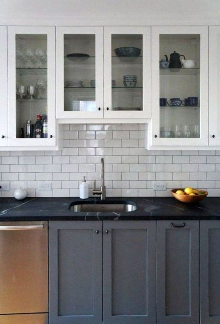 44 brilliant kitchens cabinets design ideas kitchen pinterest rh pinterest com