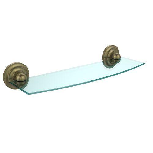 allied brass prestige que new collection 18 inch glass shelf rh pinterest ie