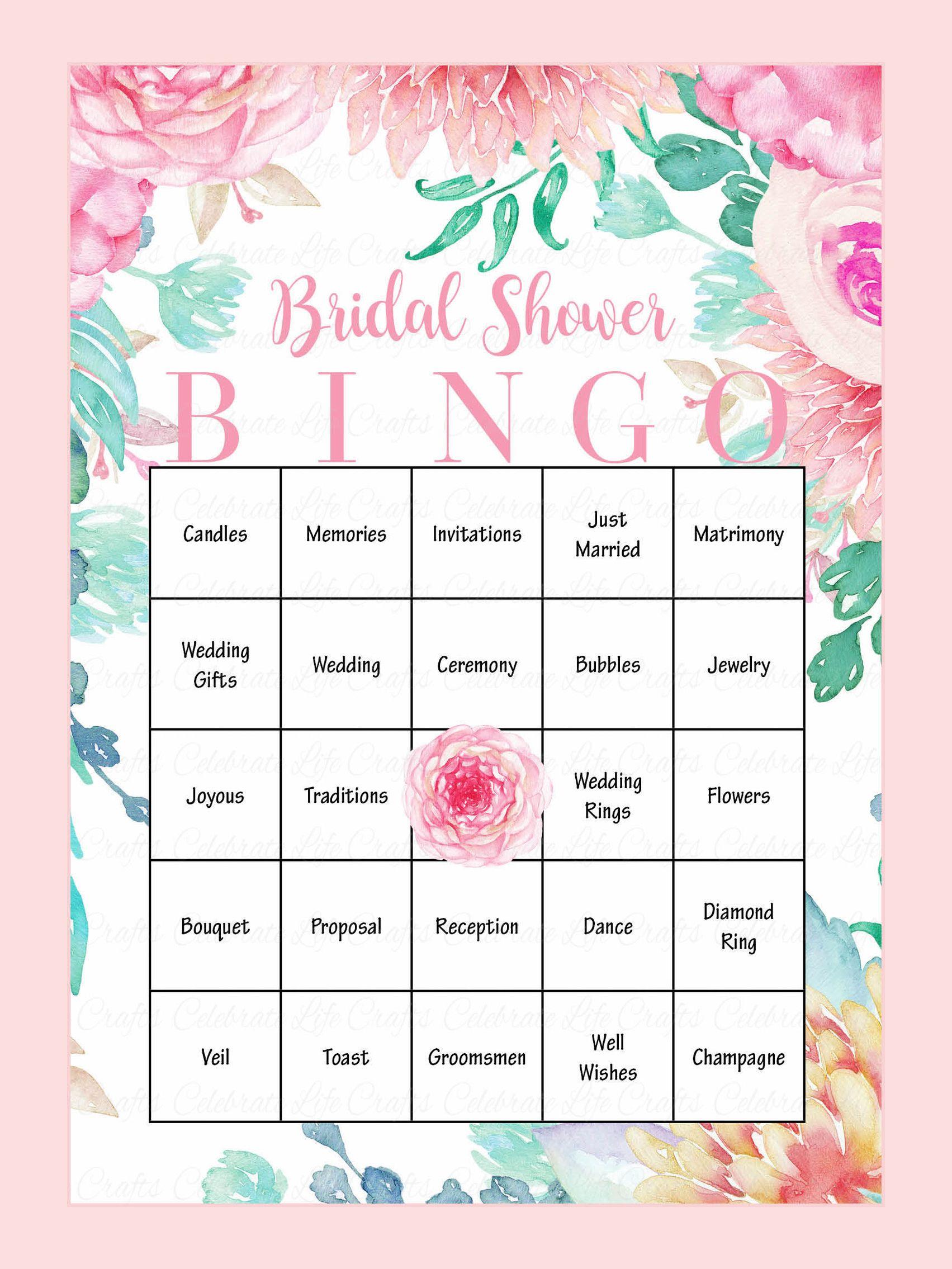 bridal shower card games