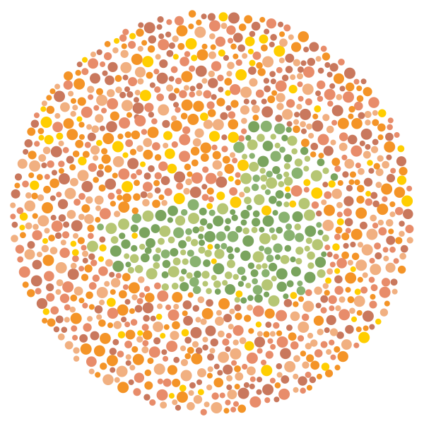 Color blind  Online color vision test  Blindness  Low Vision