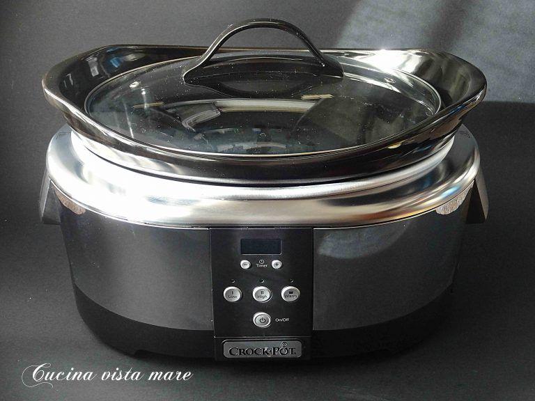 Cucinare Nella Slow Cooker Cucina Vista Mare Slow Cooker Ricette Crockpot Cottura Lenta