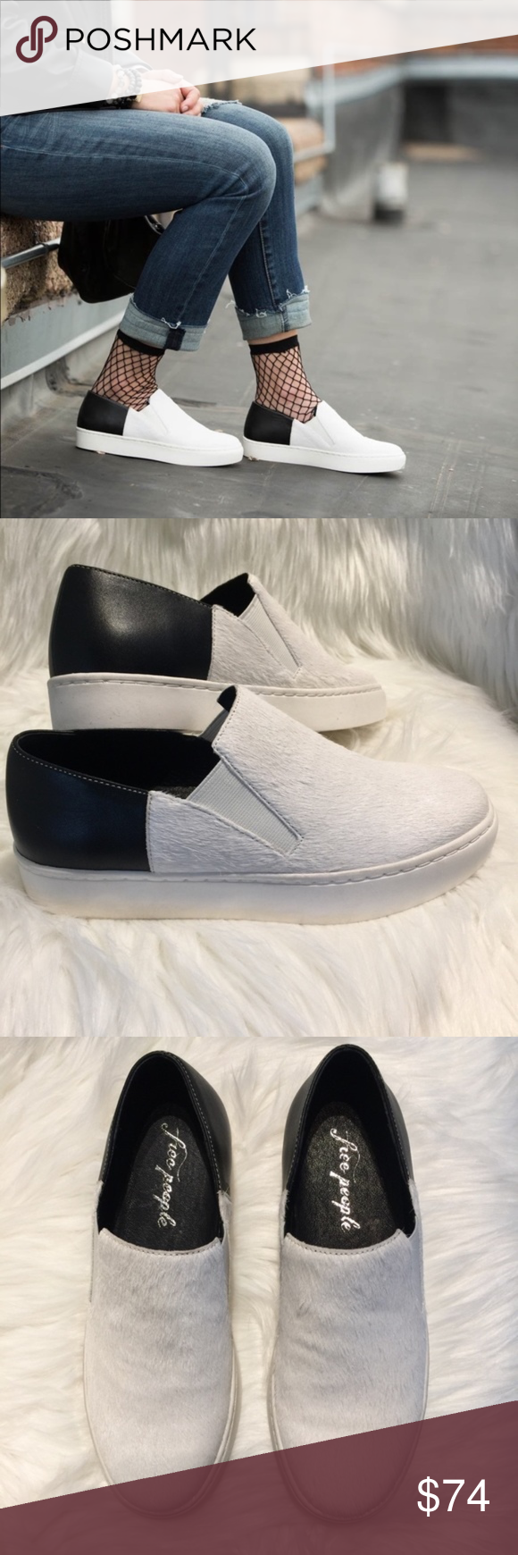 13880b48dd9f ... NIB Sizing  Round toe - Genuine calf hair-Slip-on - Padded tongue and  collar for comfort - Grip sole for traction - Imported Free People Shoes  Sneakers