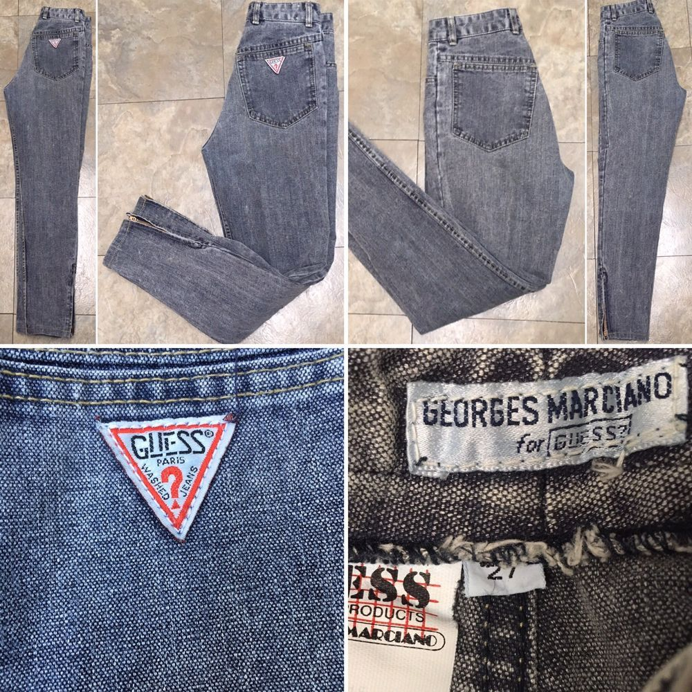 VTG Georges Marciano Guess Jeans 80s 27 26