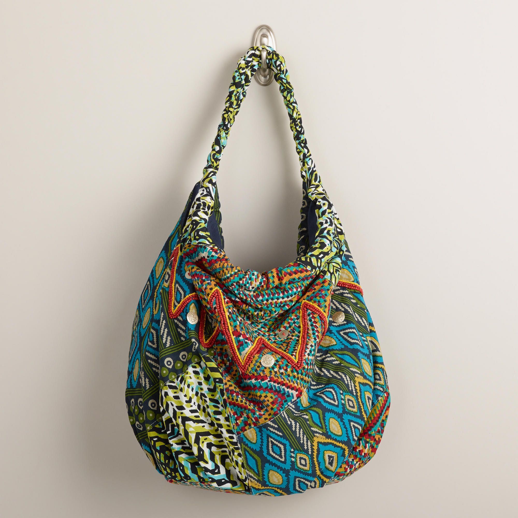 Large multicolored bag. Only $30. Love. #bag #purse #boho