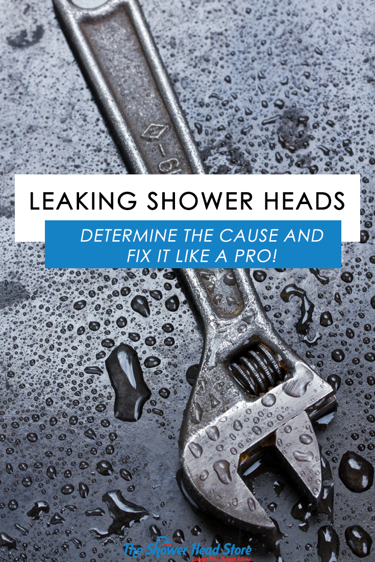 Leaking Shower Head: How To Determine the Cause and Fix It Like a ...