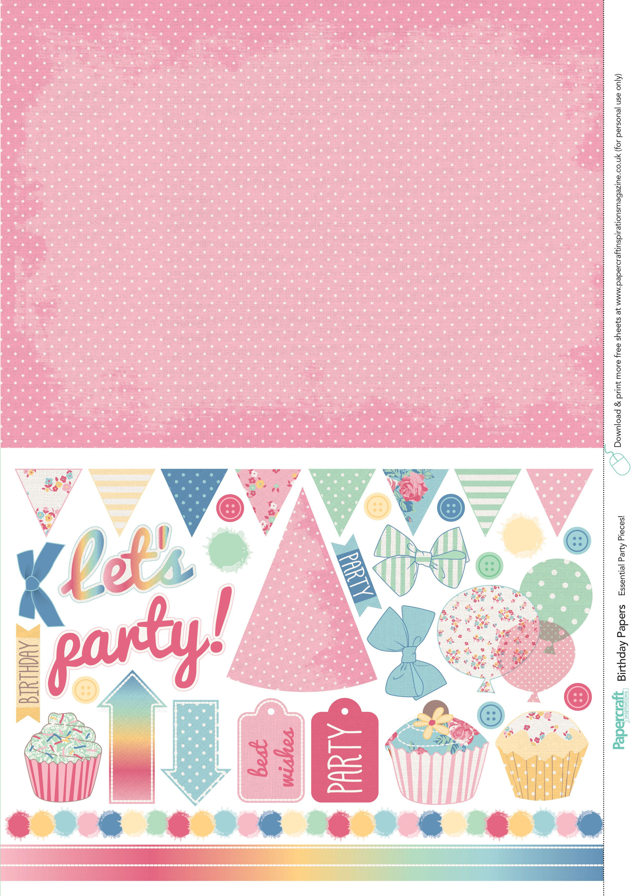 Wednesday s Guest Freebies Papercraft Inspirations ✿ Follow the