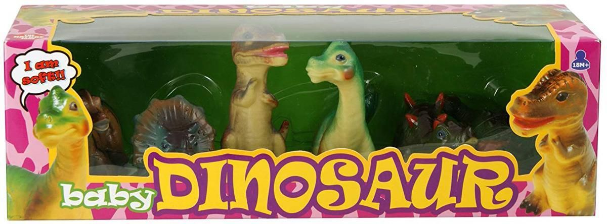 Peterkin Soft Touch Playset - Baby Dinosaur Toy