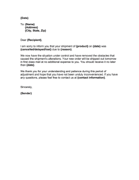 The  Best Apology Letter To Customer For Mistake  Apology