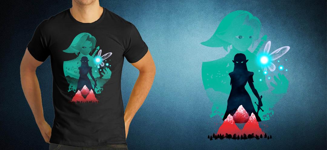 1Geek 1Shirt Zelda