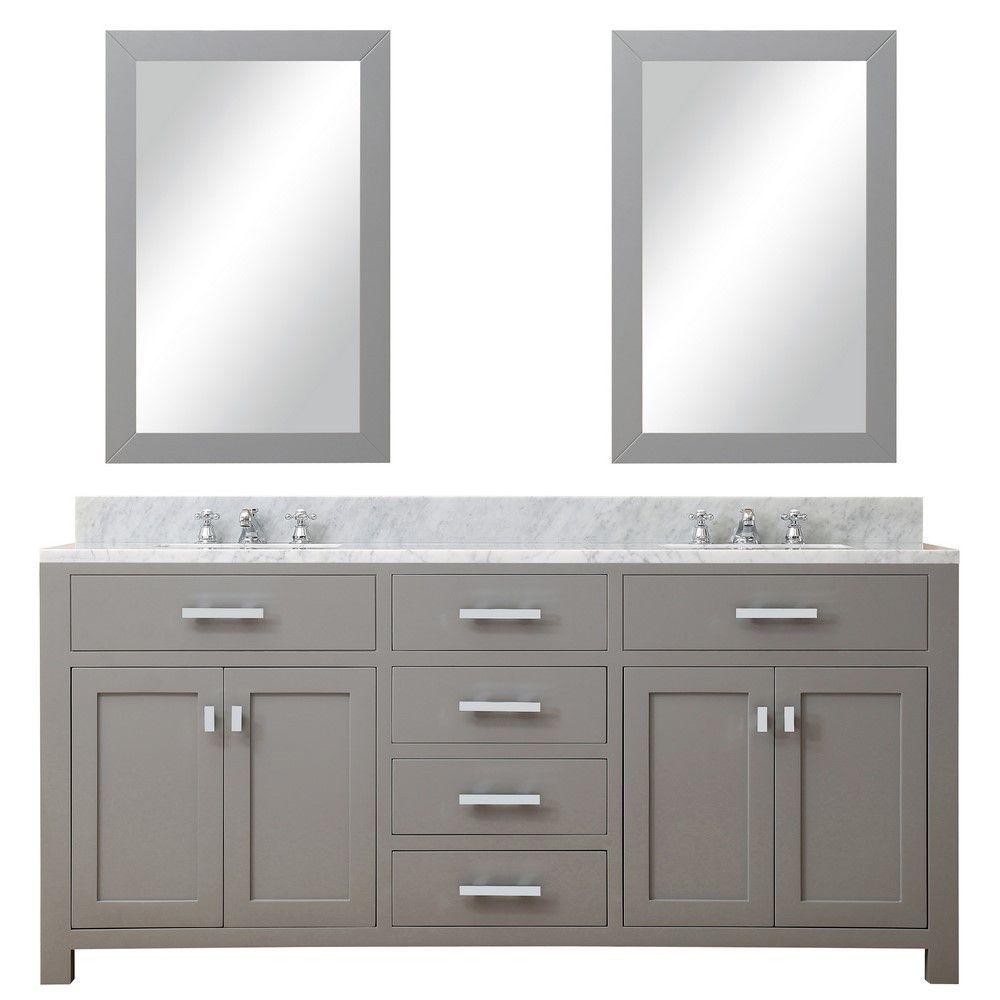 water creation s collection of premier double sink bathroom vanities rh pinterest com