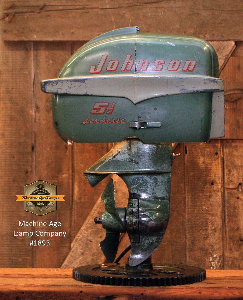 Steampunk Industrial / Antique Johnson Boat Motor