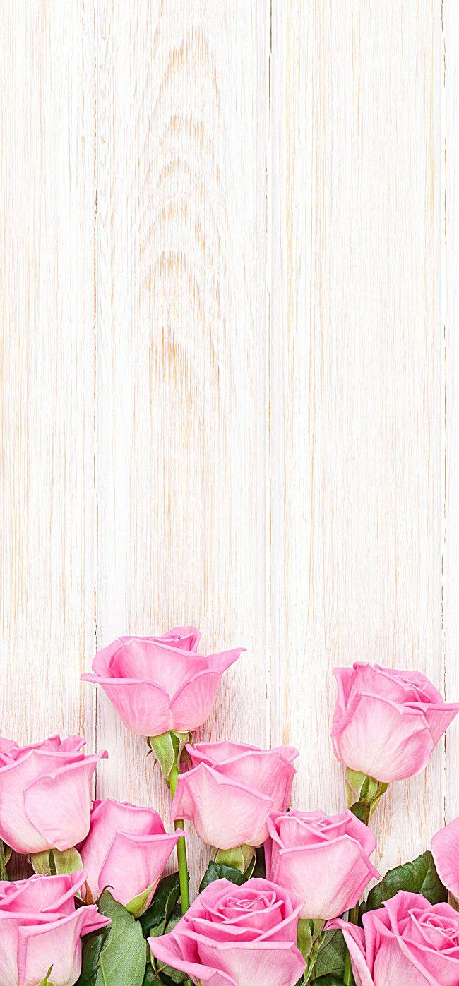 Pink Roses Wedding Theme Panels – Wallpapers